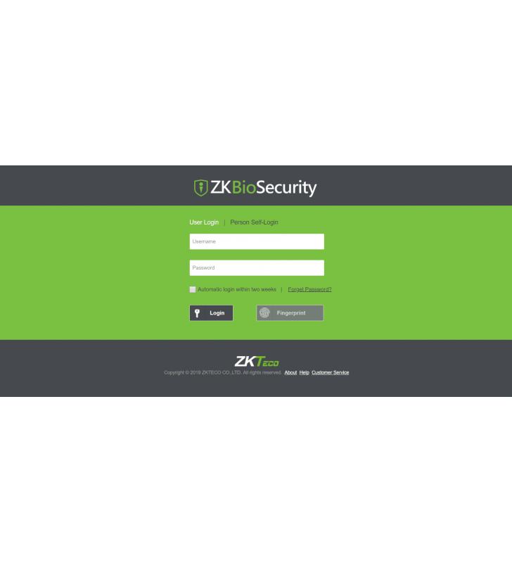 ZKBioSecurity - ZKTeco