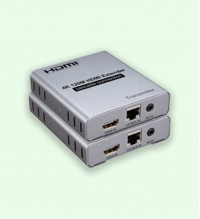 Extender HDMI 4K 120M Cascade connexion Via Cat5e CAT6 RJ45 Ethernet câble réseau TX RX