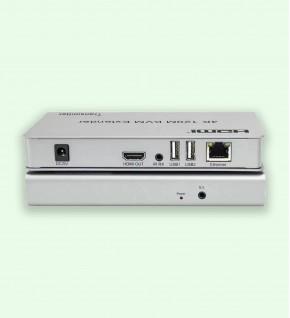 Extender HDMI 4K 120M KVM connexion Via Cat5e CAT6 RJ45 Ethernet câble réseau TX RX - W-D-LINK