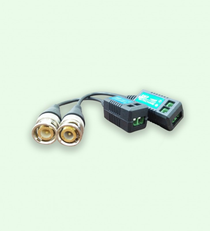 W-B-202K HD CCTV video balun 1ch 1080P AHD TVI CVI TVBS passive 550m video balum for CCTV system passive video balun