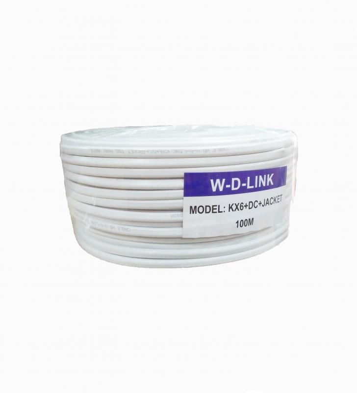 Câble Coaxial KX6+2DC+JACKET W-D-LINK