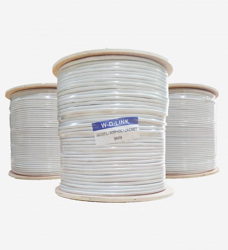 Câble Coaxial KX6+2DC+JACKET WD LINK