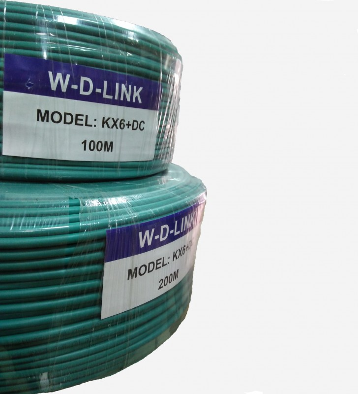 Cable-coaxial-KX6-W-D-LINK