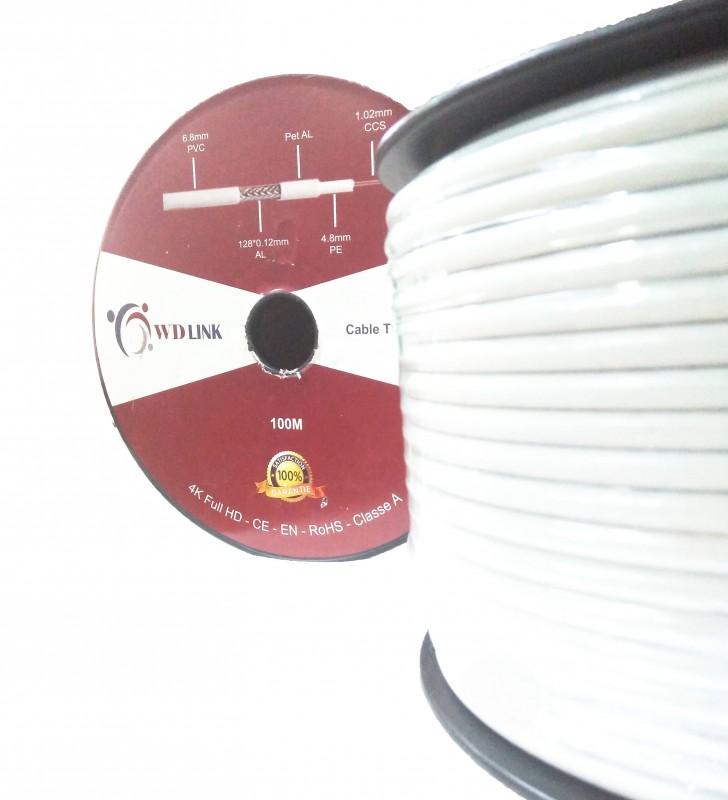 Câble Coaxial TV RG58 de la marque W-D-LINK
