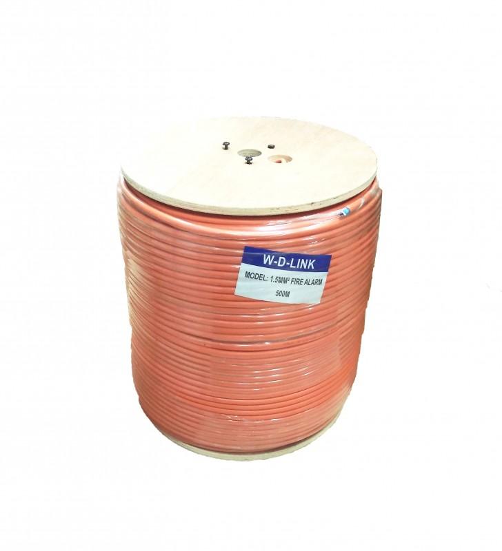 Câble Incendie W-D-LINK ORANGE 500M : FIRE ALARM 8,8MM