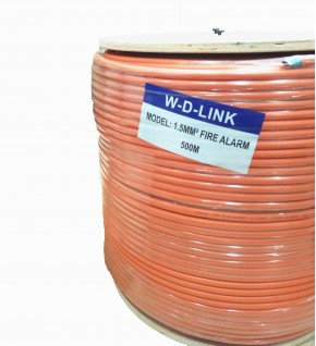 Câble Incendie W-D-LINK ORANGE 500M : FIRE ALARM 8,8MM