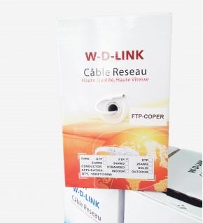 Câble Réseau FTP COOPER...